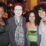 Heidemarie wieczorek-zeul -bundesministerin a. d.- & Sisters bei der mutternacht am 7.5.2010